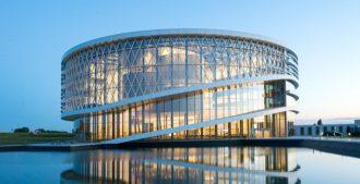 Bélgica: Nueva sede central de 'Barco Graphics', Kortijk - Jaspers-Eyers Architects