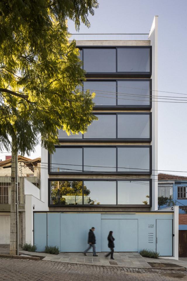 Brasil: Edificio Kiev, Porto Alegre - Arquitetura Nacional