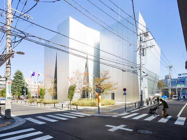 Japón: Museo Sumida Hokusai, Tokio - SANAA