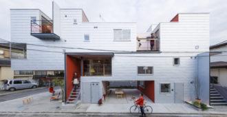 Japón: Siete viviendas en Saitama - Eureka + MARU.architecture