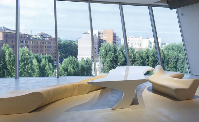 Exhibición: 'Zaha Hadid en Italia' en el Museo MAXXI de Roma