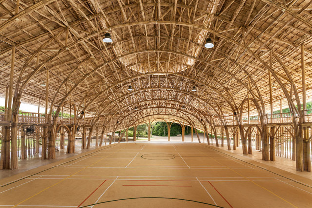 Tailandia: Pabellón de Deportes, Panyaden International School - Chiangmai Life Architects