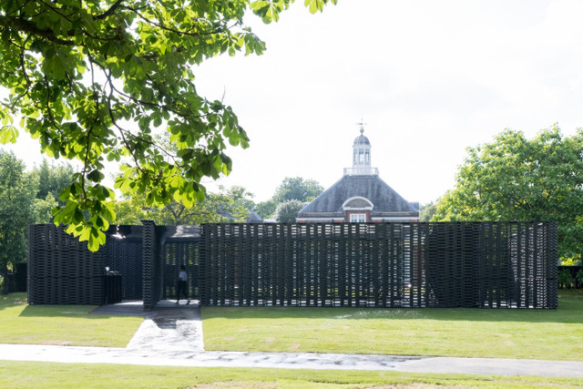 Londres: Serpentine Gallery Pavilion 2018 - Frida Escobedo